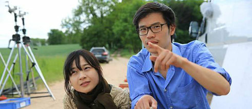 Dieu Hao Dotogether with the actress Kim Kkobbi