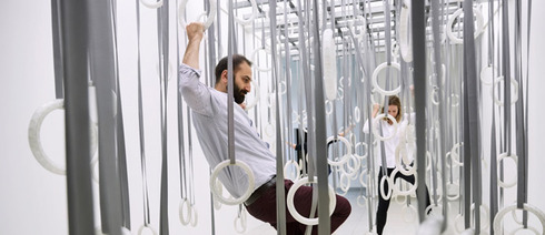 "William Forsythe ""The Fact of Matter"" (2009), Installationsansicht MMK Museum für Moderne Kunst Frankfurt am Main."