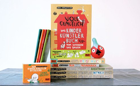 "In total, the ""Kinder Künstler Bücher"" have sold nearly half a million copies;"