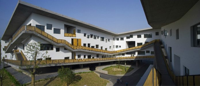 Xiangshan Campus, China Academy of Art, Phase II, 2004-2007, Hangzhou