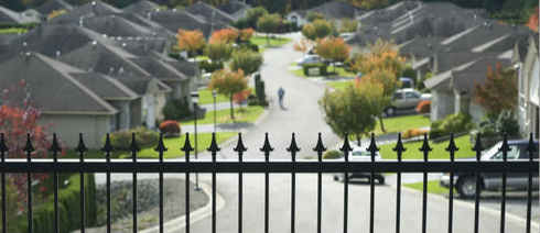 Gated Community, Abbotsford, British Columbia,