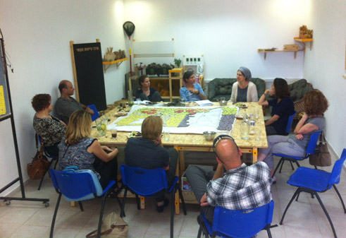 Establishing the sustainability center in Jerusalem