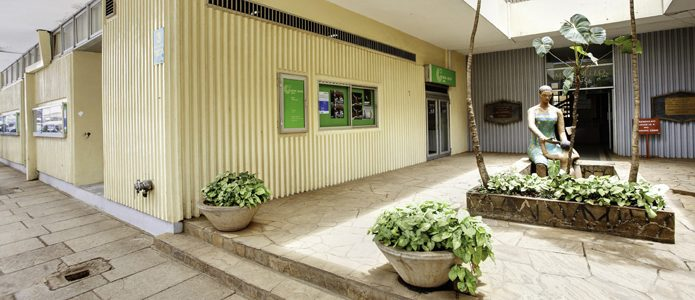Entrance and Auditorium at the Goethe-Institut Kenya