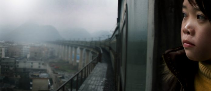 Zhang Qin in Last Train Home