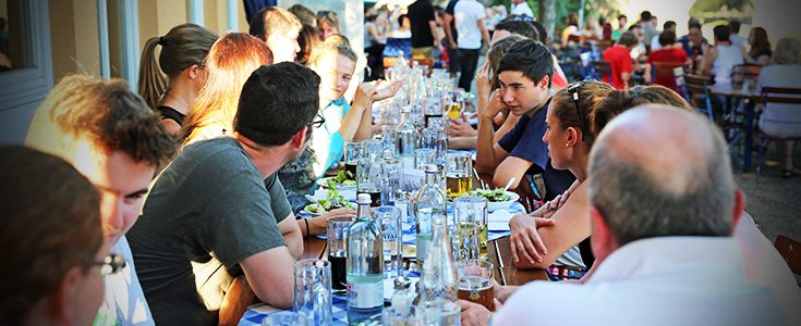 TOP Study Tour: A Perfect Biergarten Night in Regensburg
