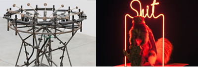 "Pedro Reyes ""Disarm (Mechanized) und Raed Yassin"
