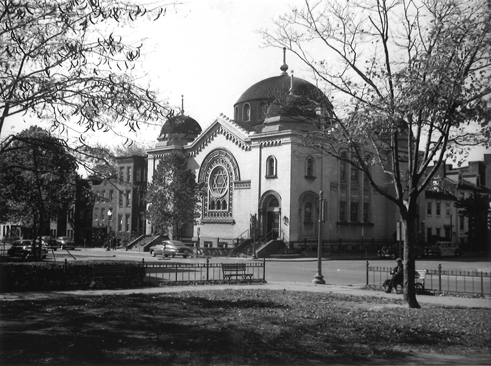 Adas Israel Congregation as it appeared to roving photographer John P. Wymer on October 23, 1949.