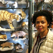 17 activists from Africa and Asia roam the natural history museum after hours