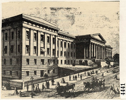Old Patent Office Building, 1856.