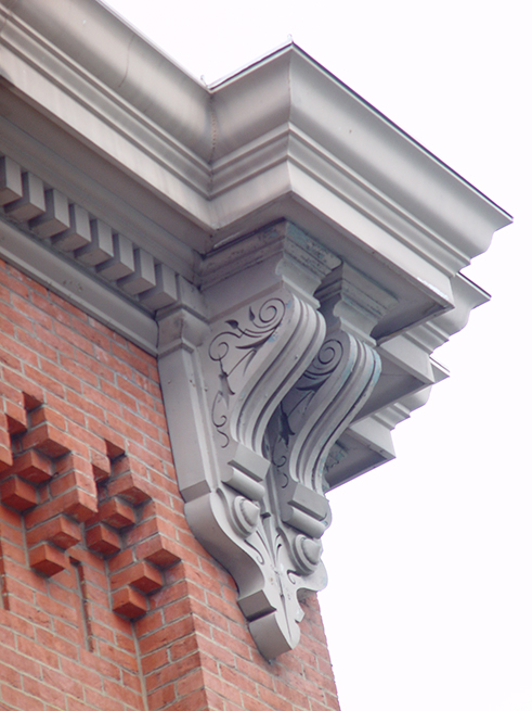 Detail of Eastern Market's facade, 2007.