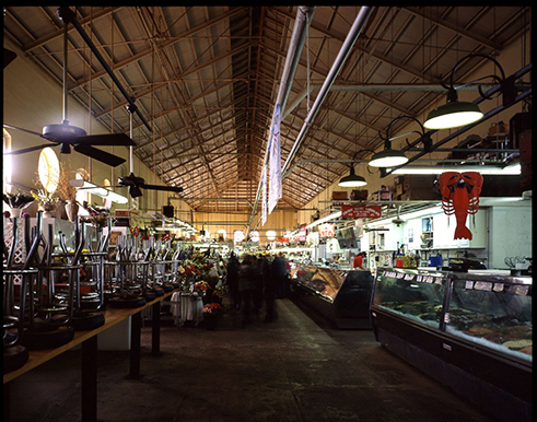 Interior of Eastern Market, 2004.