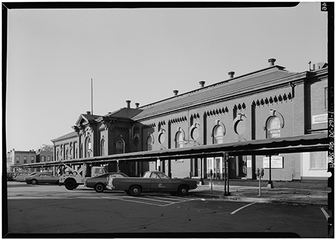 Eastern Market, east front, 1972.