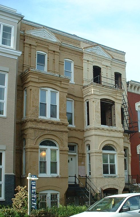 HH Wells Residence, 428-430 M Street NW (2006).