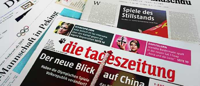 China in der Deutschen Presse