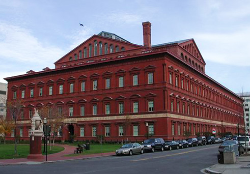 National Building Museum (Pension Building), 2015.