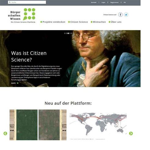 Citizens create knowledge – Platform for Citizen Science