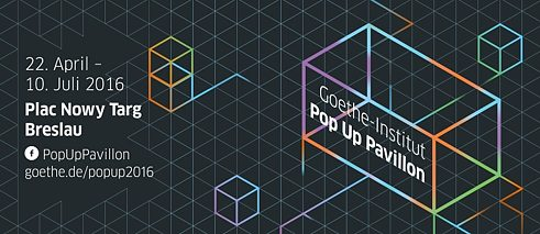 Goethe-Institut Pop Up Pavillon