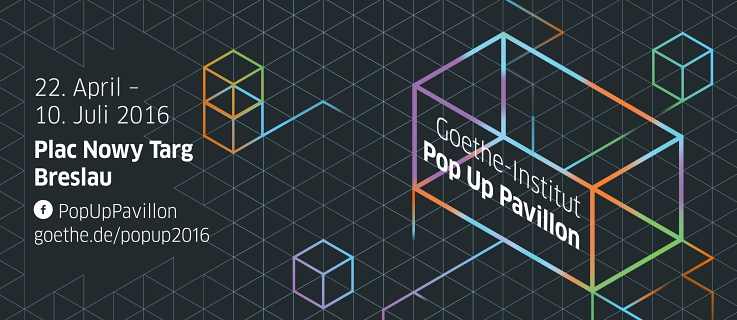 Goethe-Institut<br>Pop Up Pavillon