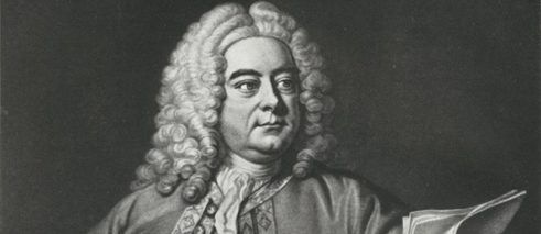 Portrait of Georg Friedrich Händel by John Faber (c. 1695-1756) after Thomas Hudson (1709-1779)