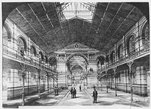 Interior Perspective, Cluss and Schulze