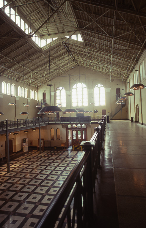 Interior of the Arts and Industries Building