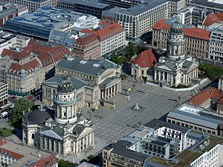 Konzerthaus Berlin at the Gendarmenmarkt square