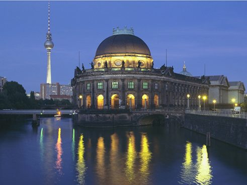 Bode Museum by night
