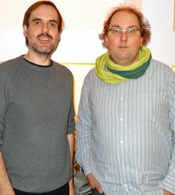 Uwe Nüstedt (left) and Christian Cordes