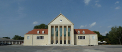 The Festival Hall in Dresden-Hellerau; photo: Shoshana Liessmann