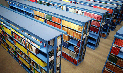 Bibliothek an der TU Berlin | © picture-alliance / ZB