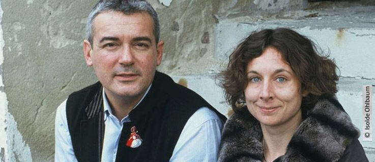 Their books deal with social topics: Juli Zeh and Ilija Trojanow;