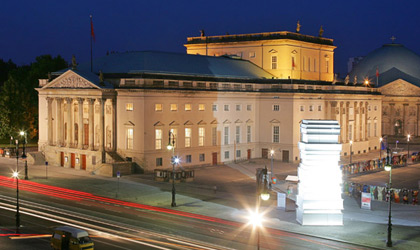 Staatsoper unter den Linden in Berlin © picture-alliance/ ZB