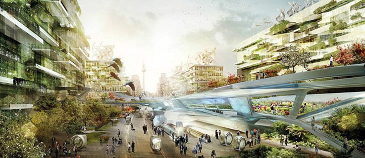This could be the city of the future