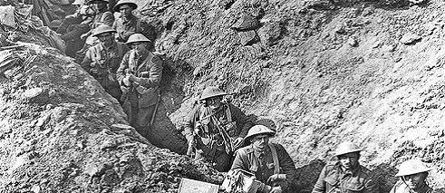 Irish Soldiers at the Somme