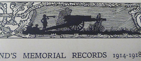 Design from Ireland's Memorial Records