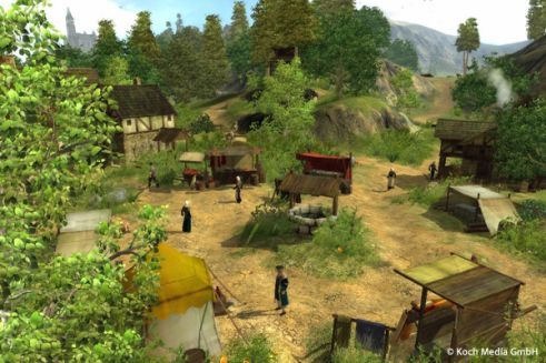 The Guild 2 (2006), business simulation