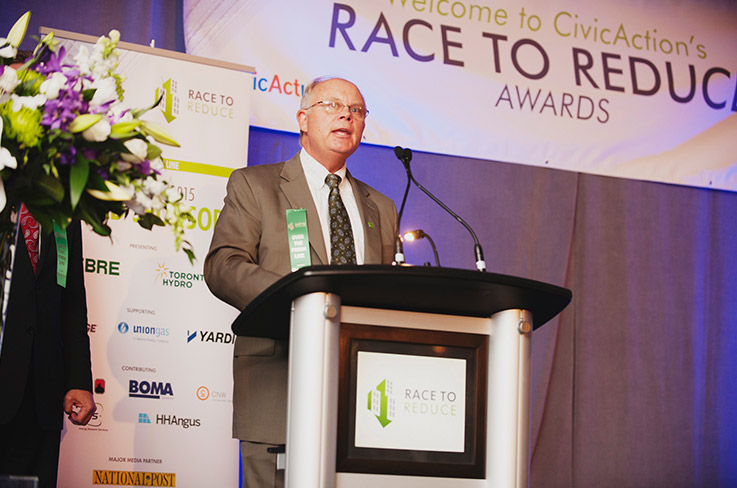 Roger Johnson at the Race to Reduce Awards