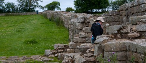 Hadrianswall in Grossbritanien