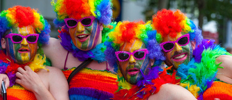 Flamboyant and colourful: Christopher Street Day