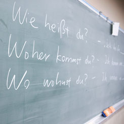 Teaching German