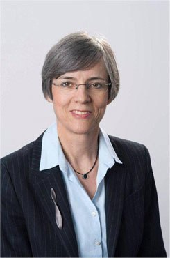 Anti-corruption expert Sylvia Schenk