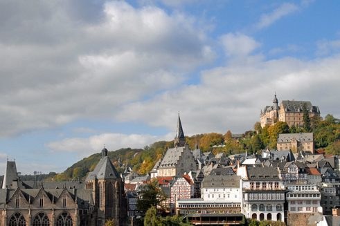 The university town of Marburg