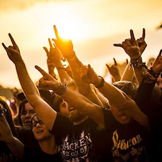 Des fans de heavy metal au Wacken Open Air Festival