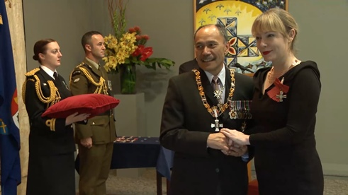 Minnie Baragwanath becomes a Member of the New Zealand Order of Merit.