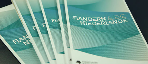 Flanders and the Netherlands are guests of honour at the 2016 Frankfurt Book Fair