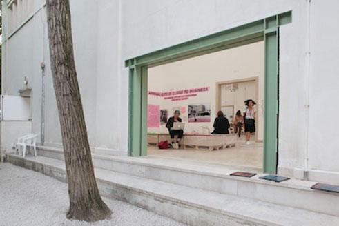magazin architekturbiennale ein offenes haus der deutsche pavillon in venedig goethe institut. Black Bedroom Furniture Sets. Home Design Ideas
