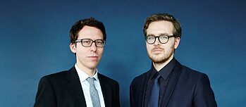 Bastian Obermayer (left) and Frederik Obermaier played a leading role in exposing the revelations of the <i>Panama Papers</i>