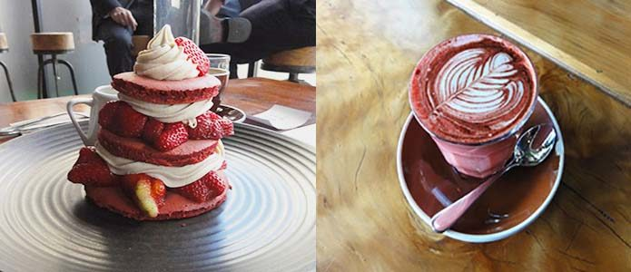 Red Velvet is the latest trend in coffee culture