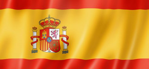 Flag of Spain (c) Colourbox