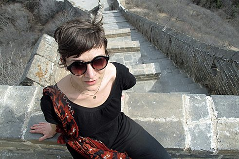 Janna Dinkel, 32, studied to be a grammar school teacher and taught German in Guangzhou, China.